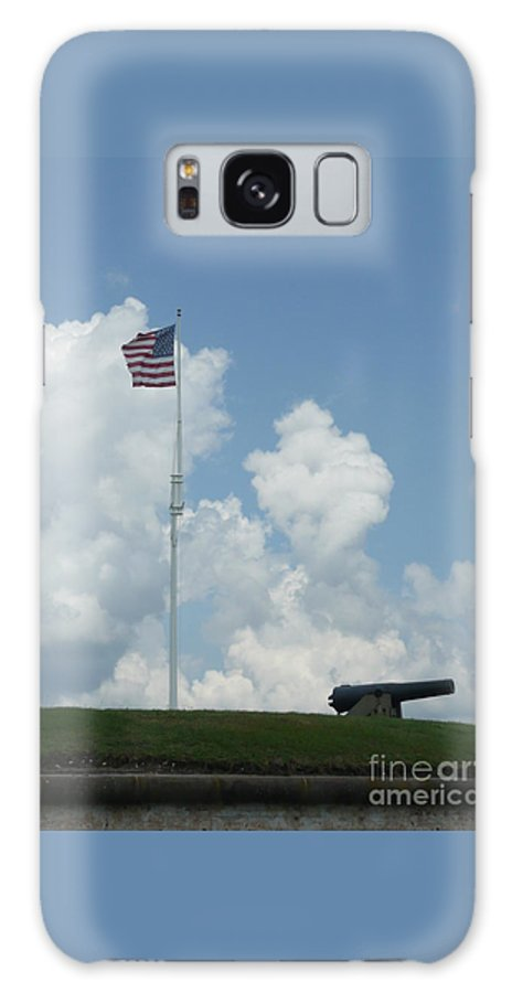 Flag Galaxy S8 Case featuring the photograph Oh Say Can You See by Barb Montanye Meseroll
