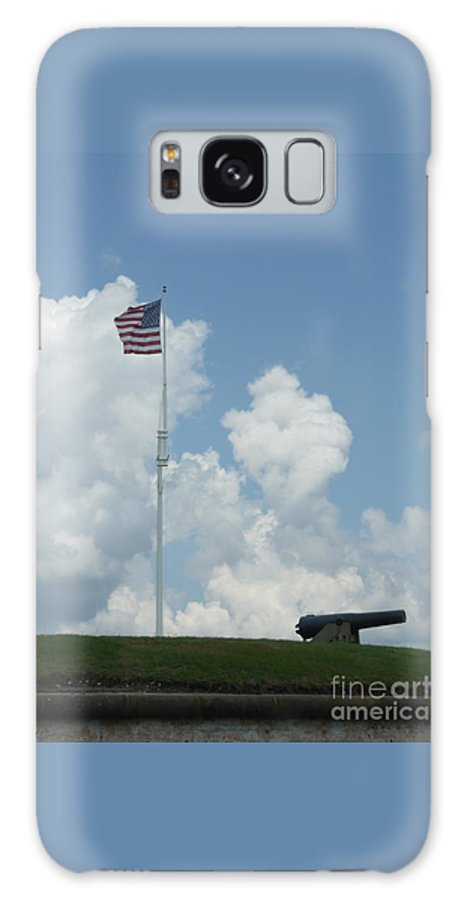 Flag Galaxy Case featuring the photograph Oh Say Can You See by Barb Montanye Meseroll