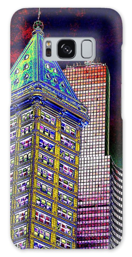 Seattle Galaxy S8 Case featuring the photograph Old And New Seattle 2 by Tim Allen