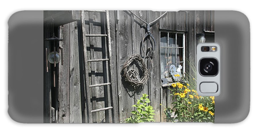 Barn Galaxy S8 Case featuring the photograph Old Barn II by Margie Wildblood