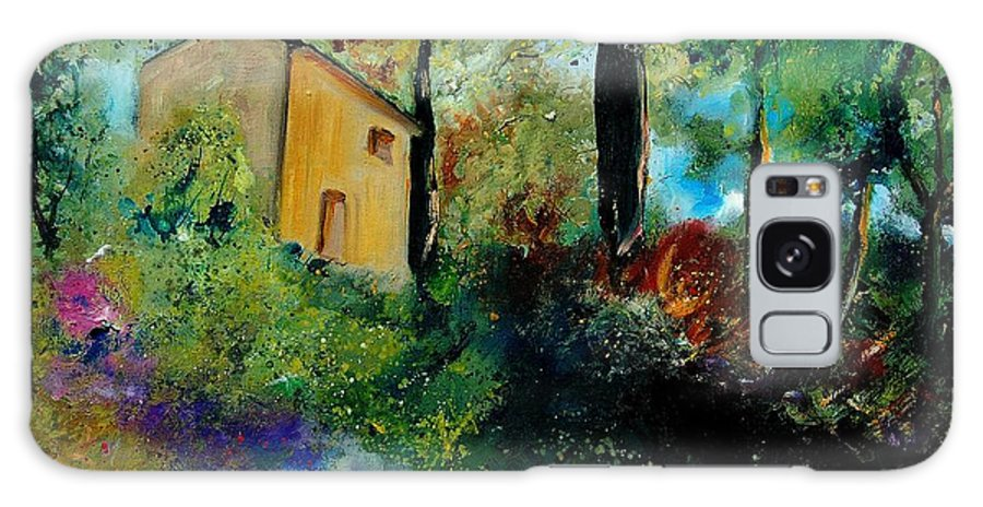 Provence Galaxy S8 Case featuring the painting Old Barn In Provence by Pol Ledent