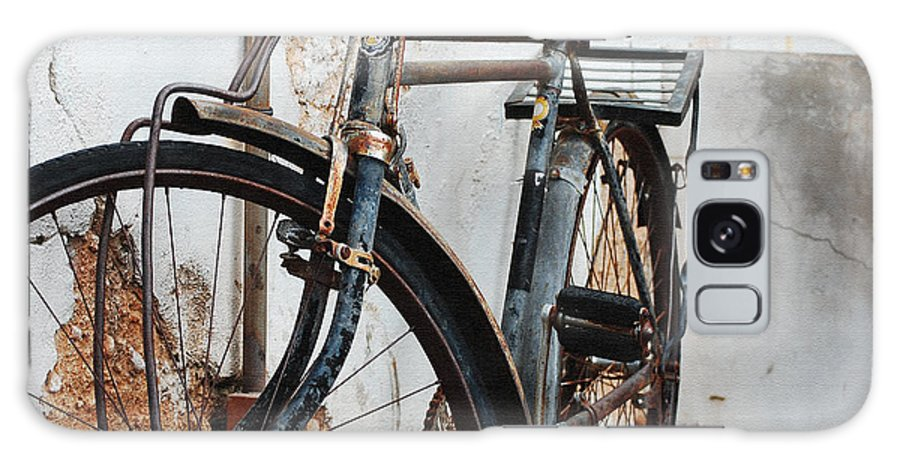 Old Bike Ii Galaxy S8 Case featuring the photograph Old Bike II by Robert Meanor