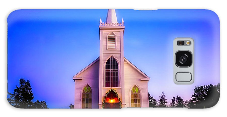 Church St. Teresa�s Of Avila Galaxy S8 Case featuring the photograph Old Bodega Church Sunset by Garry Gay