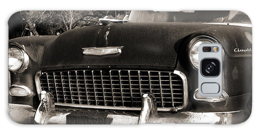 Americana Galaxy S8 Case featuring the photograph Old Chevy by Marilyn Hunt