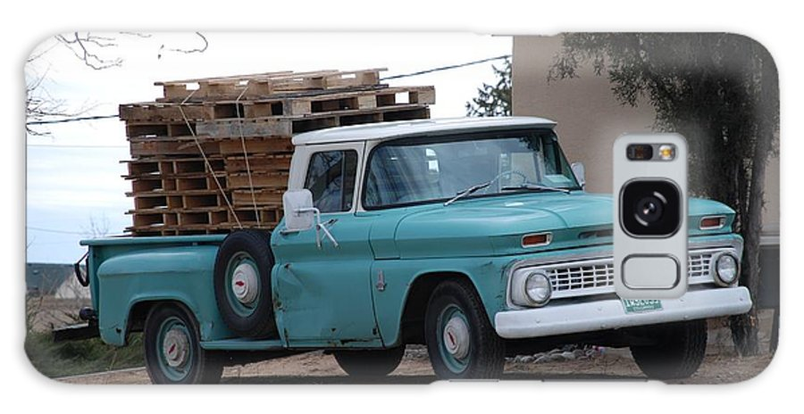 Old Truck Galaxy S8 Case featuring the photograph Old Chevy by Rob Hans