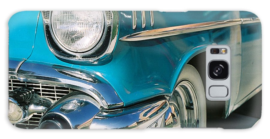 Chevy Galaxy Case featuring the photograph Old Chevy by Steve Karol