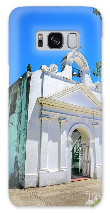 Colonia Uruguay Oldest Churches Galaxy S8 Case featuring the photograph Old Church Colonia by Rick Bragan