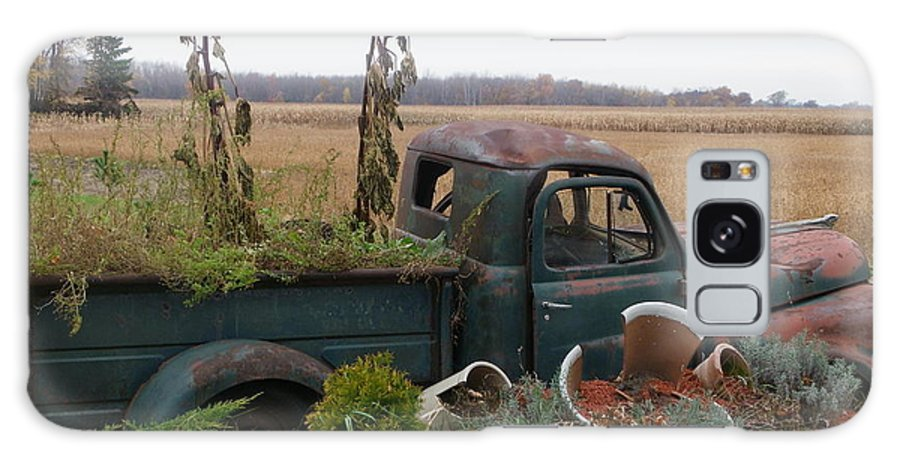 Landscape Galaxy S8 Case featuring the photograph Old Dodge New Job by Peggy King