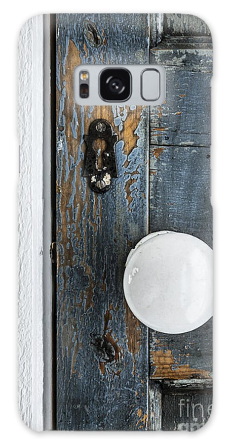 Door Galaxy Case featuring the photograph Old Door Fragment by Elena Elisseeva