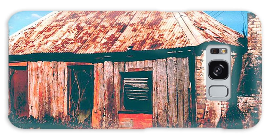 Australia Galaxy S8 Case featuring the photograph Old Farm House by Gary Wonning