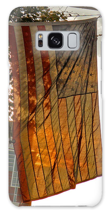 American Flag Galaxy S8 Case featuring the photograph Old Glory by Donna Shahan