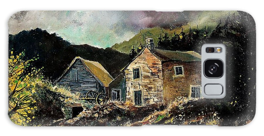 Tree Galaxy S8 Case featuring the painting Old Houses 5648 by Pol Ledent