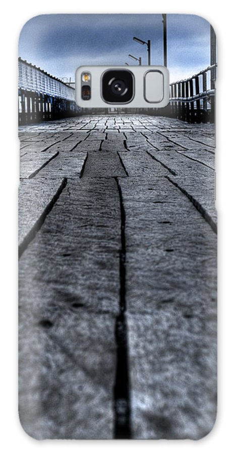 Jetty Galaxy Case featuring the photograph Old Jetty 2 by Kelly Jade King
