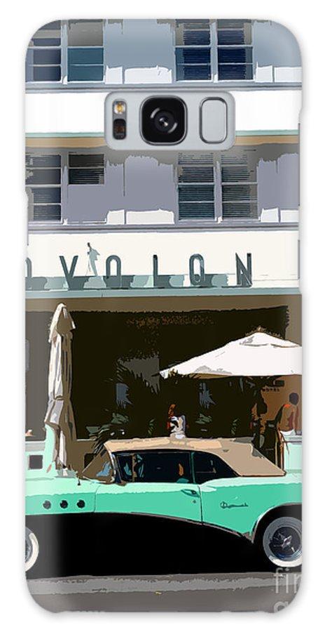 Miami Beach Florida Galaxy S8 Case featuring the photograph Old Miami Beach by David Lee Thompson