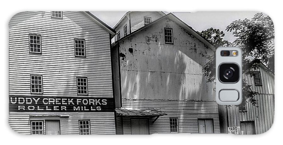 Historical Buildings Galaxy S8 Case featuring the photograph Old Mill Buildings by Paul Kercher