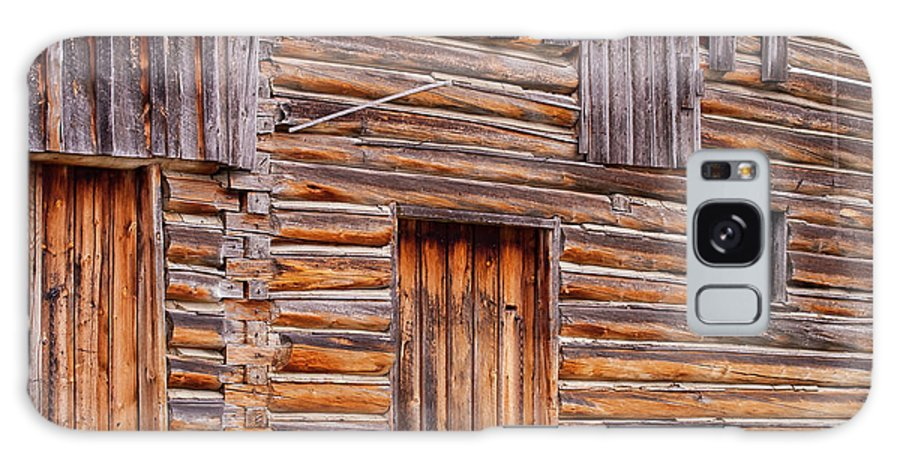 Jackson Hole Wyoming Galaxy S8 Case featuring the photograph Old Mormon Barn by Bob Phillips