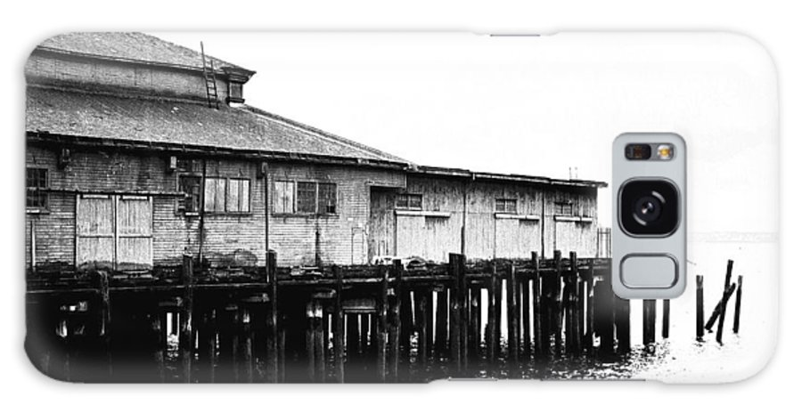History Galaxy S8 Case featuring the photograph Old Pier by Karen Ulvestad