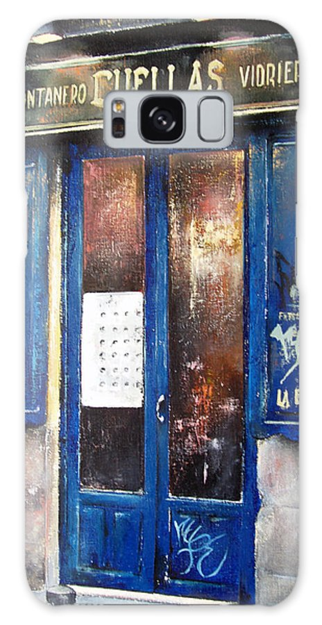 Old Galaxy Case featuring the painting Old Plumbing-madrid by Tomas Castano
