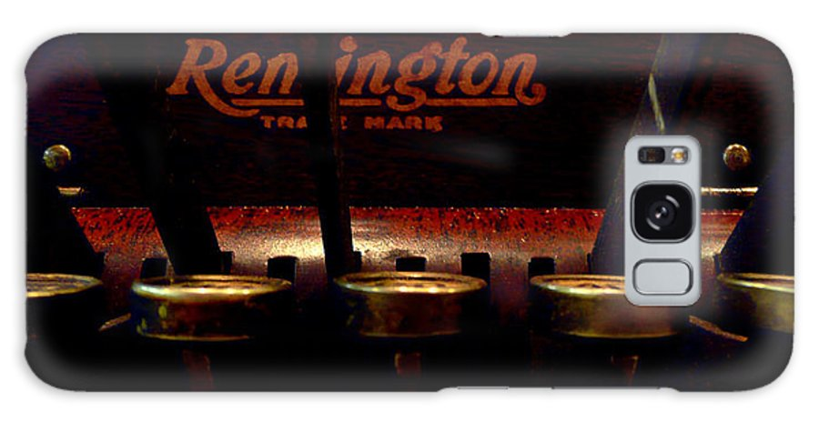 Cash Register Galaxy S8 Case featuring the photograph Old Remington Cash Register by Lori Seaman