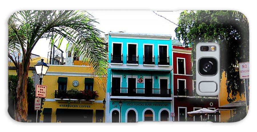 San Juan Galaxy S8 Case featuring the photograph Old San Juan Pr by Michelle Dallocchio