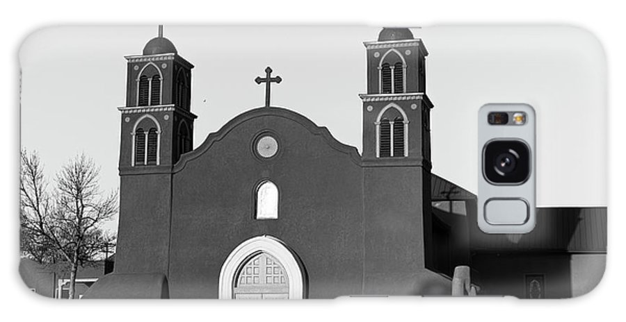 Old Galaxy S8 Case featuring the photograph Old San Miguel Mission, Socorro, New Mexico, March 12, 2017 by Mark Goebel