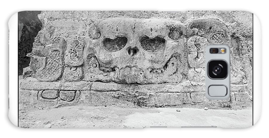 Temple Of The Skull Galaxy S8 Case featuring the photograph Old School Dead Head by David J Warrington