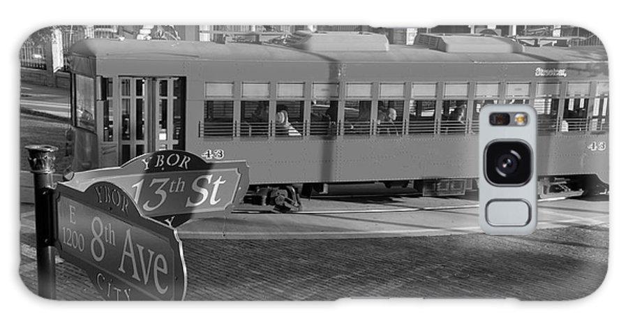 Ybor City Florida Galaxy S8 Case featuring the photograph Old Ybor City Trolley by David Lee Thompson