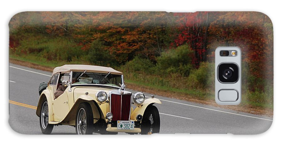 Mg Galaxy S8 Case featuring the photograph Old Yeller 8168 by Guy Whiteley