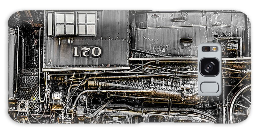 Trains Galaxy S8 Case featuring the photograph Ole #170 by Jim Raines