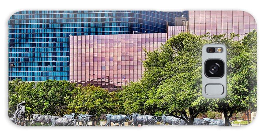 Omni Hotel Galaxy S8 Case featuring the photograph Omni Hotel Dallas Texas by Kathy Churchman
