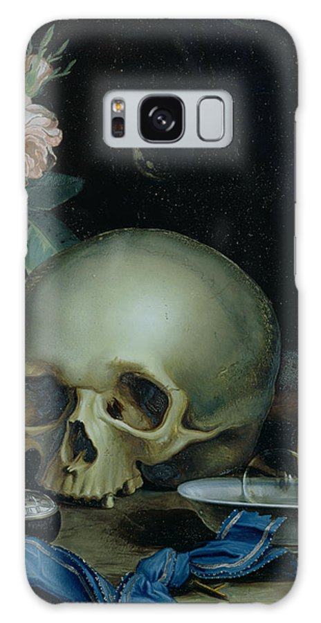 Omnia Vanitas Galaxy S8 Case featuring the painting Omnia Vanitas by Dutch School