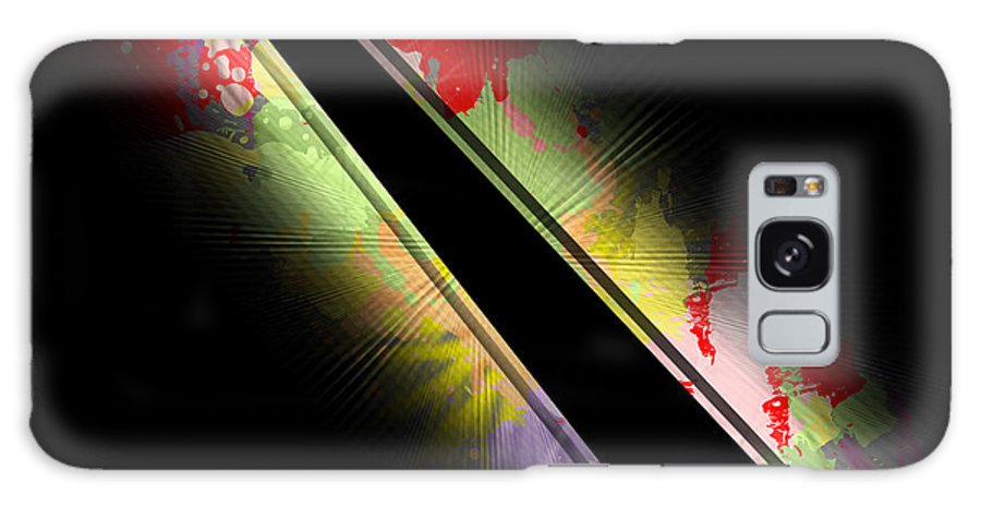 Slant Galaxy S8 Case featuring the digital art On Slant by Anthony Caruso
