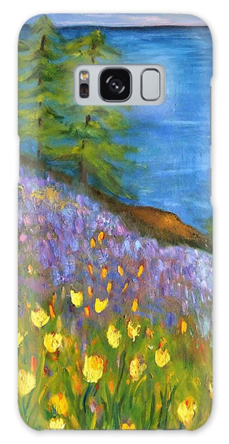 Impressionist Art Galaxy S8 Case featuring the painting On The Hillside by Marla McPherson