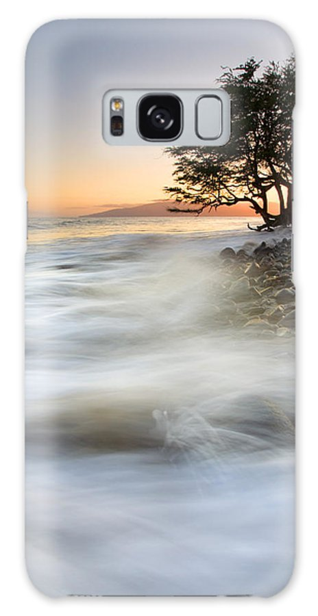 Sunset Galaxy S8 Case featuring the photograph One Against The Tides by Mike Dawson