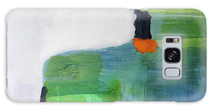 Abstract Galaxy Case featuring the painting One Day I Was Dreaming by Claire Desjardins