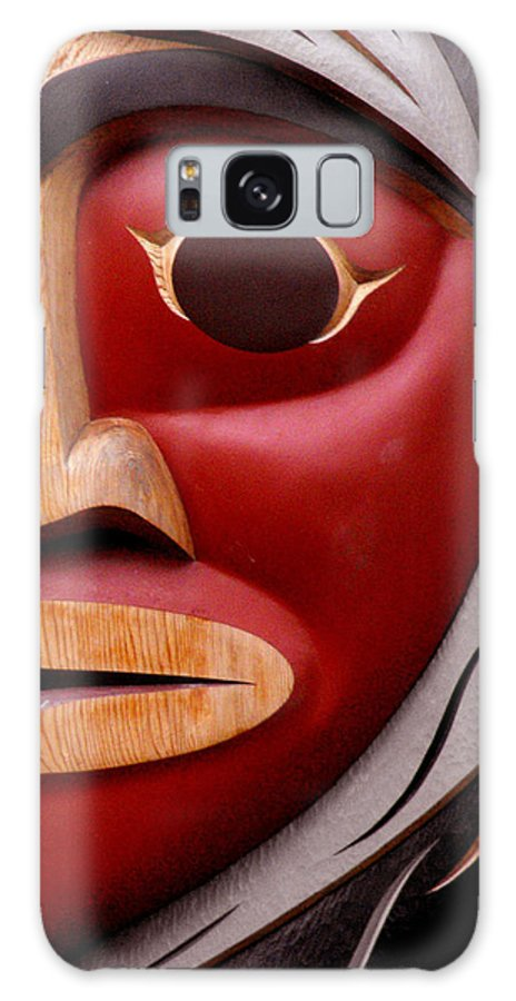Totem Galaxy S8 Case featuring the photograph One Eye by Ruth Palmer