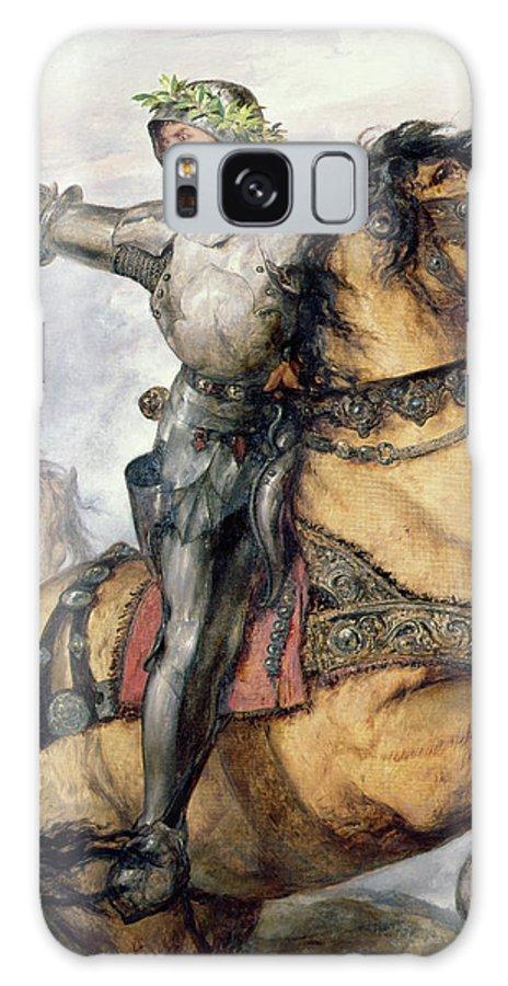 Onward Galaxy Case featuring the painting Onward by Sir John Gilbert