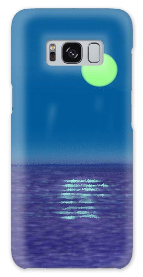 Landscape Galaxy S8 Case featuring the digital art Opatia.night. Croatia by Dr Loifer Vladimir