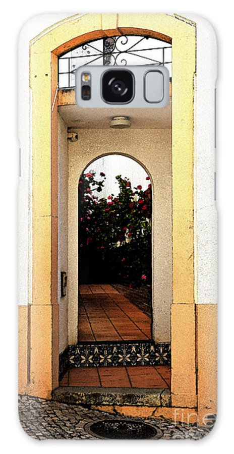 Open Galaxy S8 Case featuring the photograph Open Doorway by Louise Heusinkveld