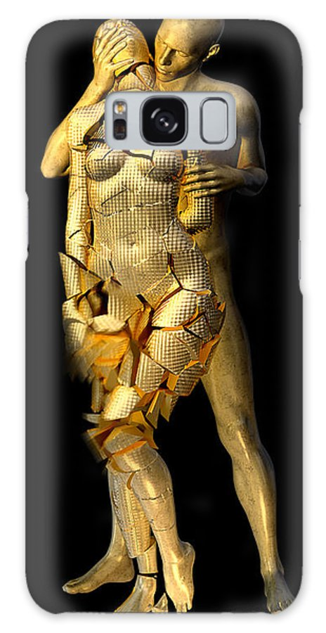 Digital Galaxy S8 Case featuring the digital art Oppressed by Simon Wilkinson