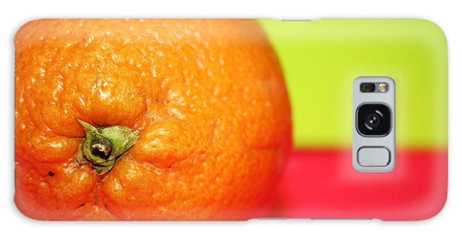 Oranges Galaxy Case featuring the photograph Orange by Linda Sannuti