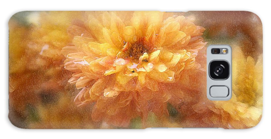 Flowers Galaxy S8 Case featuring the photograph Orange Passion by Linda Sannuti
