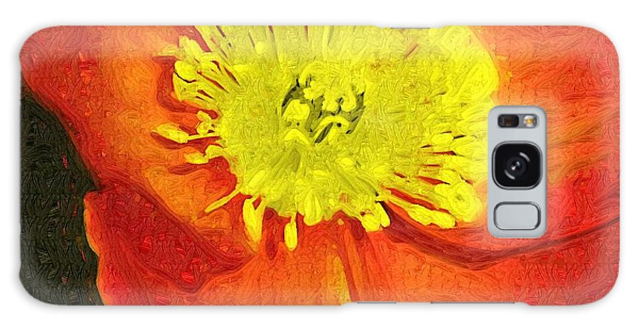 Poppy Galaxy S8 Case featuring the photograph Orange Poppy by Donna Bentley