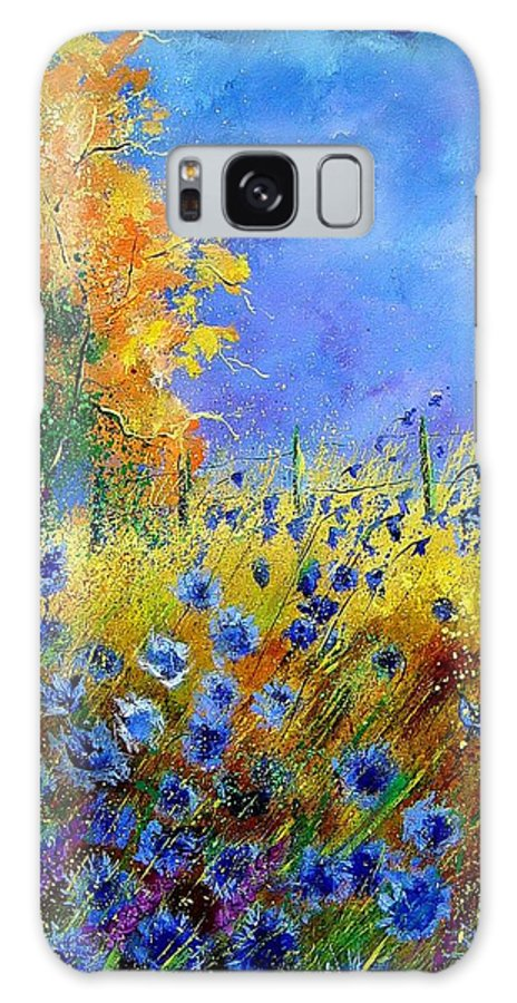 Flowers Galaxy S8 Case featuring the painting Orange Trees by Pol Ledent
