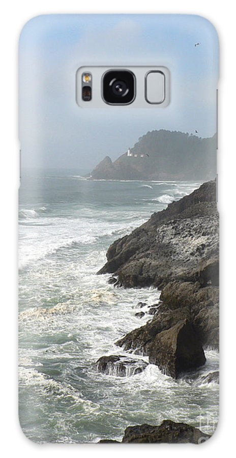 Pacific Galaxy Case featuring the photograph Oregon Coast by Larry Keahey