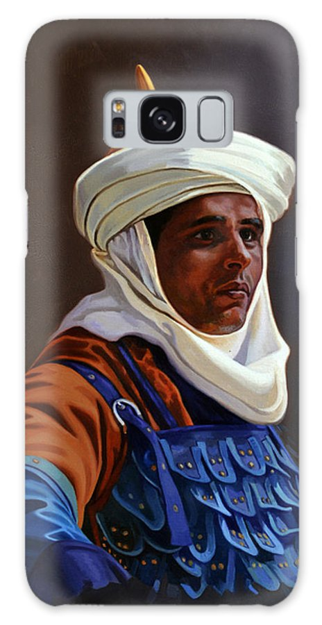 Orientalist Galaxy S8 Case featuring the painting Orientalist 01 by Ahmed Bayomi