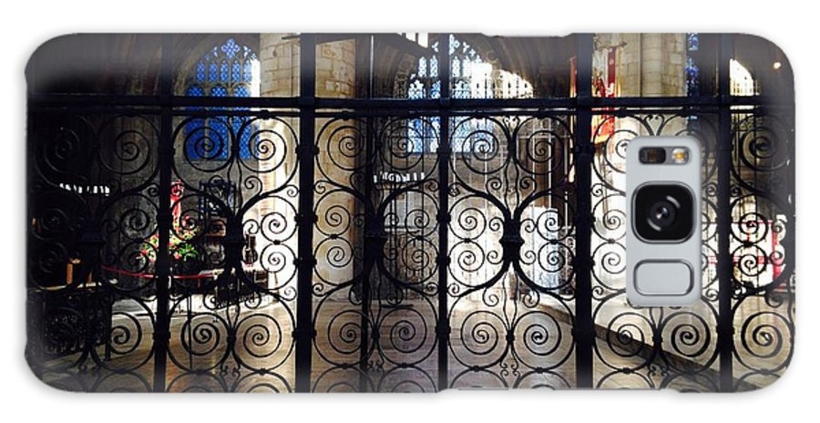 Ornate Iron Gate Galaxy S8 Case featuring the photograph Ornate Gate by Melissa Stephenson