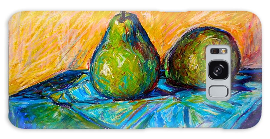Still Life Galaxy Case featuring the painting Other Pears by Kendall Kessler
