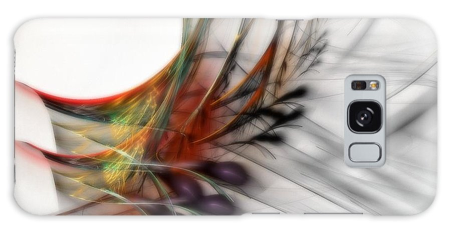 Abstract Galaxy S8 Case featuring the digital art Our Many Paths by NirvanaBlues