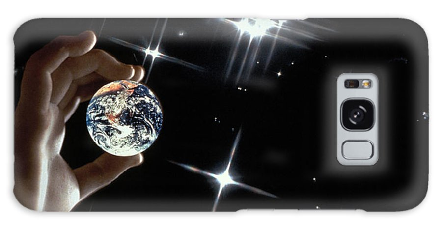 Stars Galaxy Case featuring the photograph Our Precious Planet by Carl Purcell
